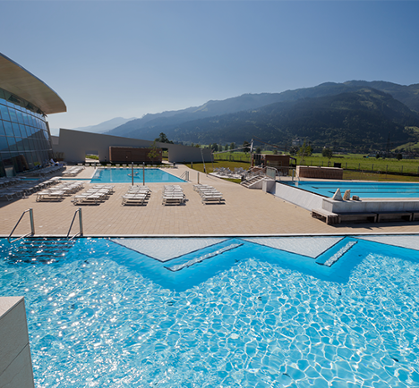 photo de piscine bien-être Kaprun